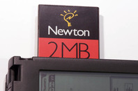 Newton MessagePad 120 - PCMCIA card