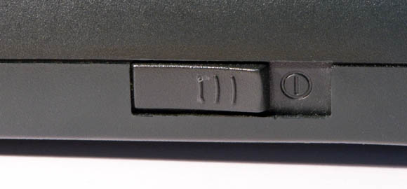 Newton MessagePad 120 - on-off switch