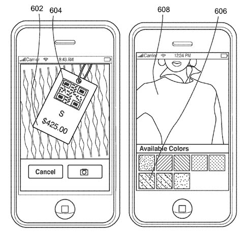 Apple patent illustration