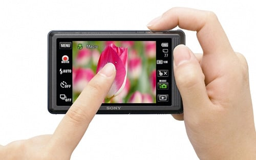 Group Test Touchscreen Compact Cameras