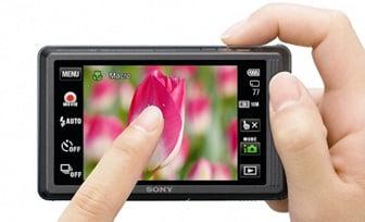 Touchscreen Camera Comparison