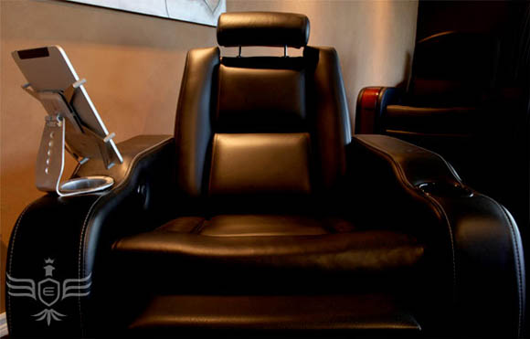 Elite Home Theater Seating iPad Chair