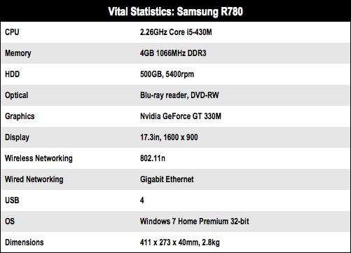 Samsung R780