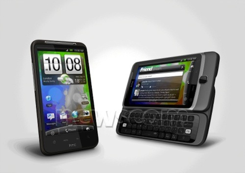 Two HTC Desire Phones