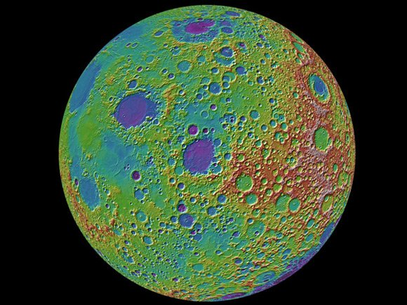 NASA Lunar Reconnaissance Orbiter image of the Moon