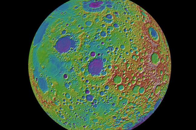 NASA Lunar Reconnaissance Orbiter image of the Moon