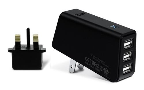 iLuv Triple USB Charger