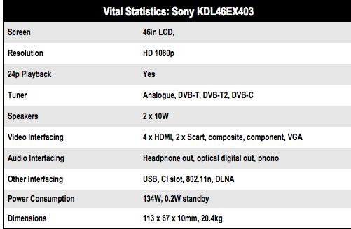 Sony 46EX403