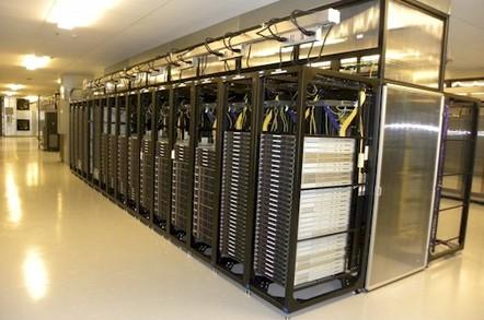 Yahoo Lockport Data Center Servers