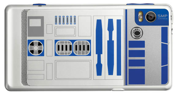 Motorola limited edition Droid R2-D2