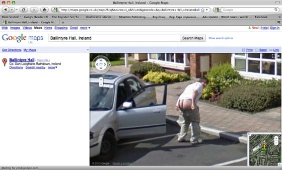 second irish mooner on street view