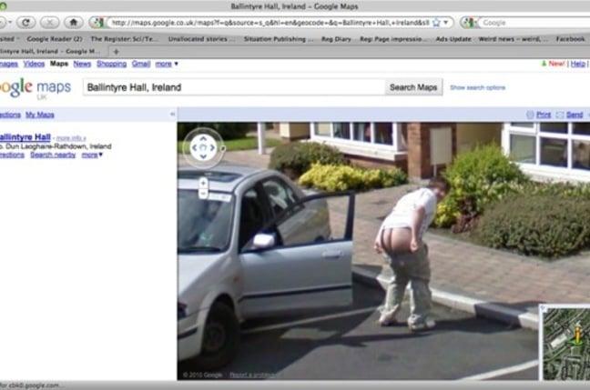 second irish mooner on street view