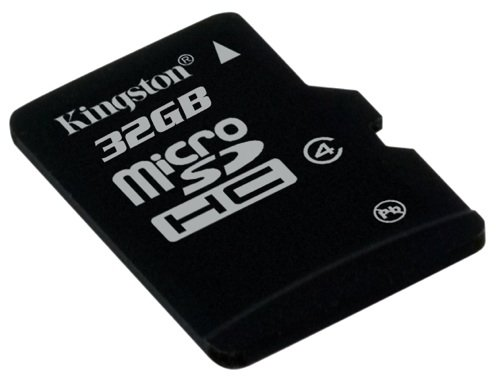 Kingston Micro SDHC memory card