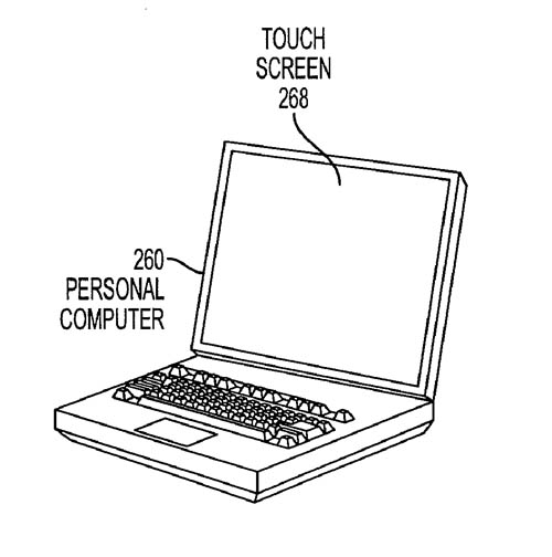 Apple display gate driver patent illustration