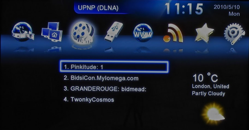DLNA... er... UPnP player