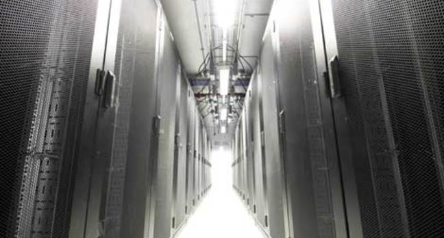 Merlin Data Center Cold Aisle