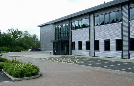 Merlin Data Centre Exterior