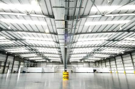 Merlin Data Center Interior