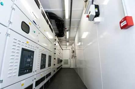 Merlin Data Center Power Room
