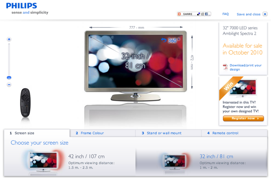 Philips DIY TV service