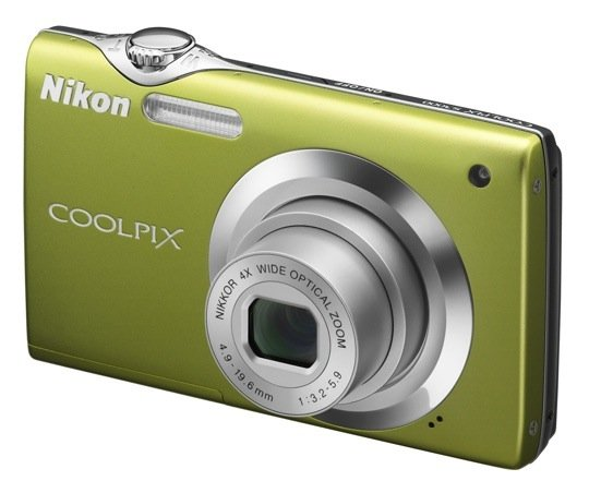 Green Coolpix S3000