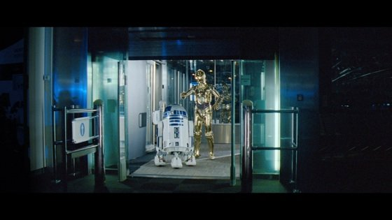 starwars droids in currys advert