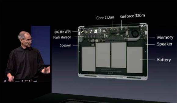 MacBook Air introduction