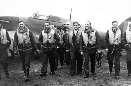 Our flyboy during the Battle of Britain