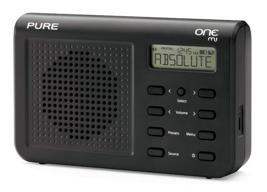 pure one mi portable dab fm radio the register. Black Bedroom Furniture Sets. Home Design Ideas