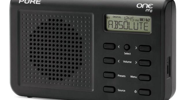 Pure One Mi portable DAB radio