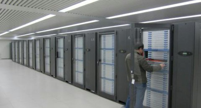 China's Tianahe-1A Supercomputer