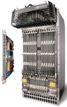 Force 10 ExaScale 40 GE line card