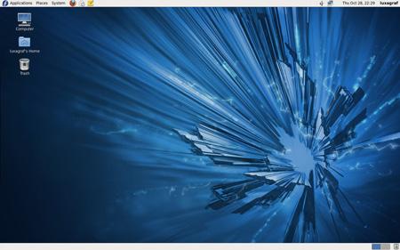 Fedora 14 desktop