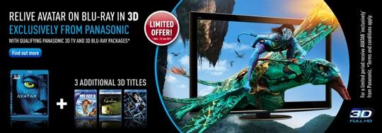 Panasonic Avatar exclusive