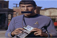 gagged spock