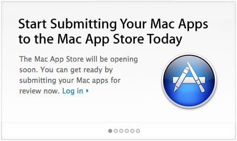Mac App Store now accepting submissions