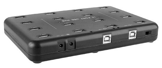 Brando 16-port USB hub