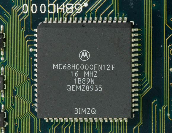 Apple Macintosh Portable: Motorola 68HC000