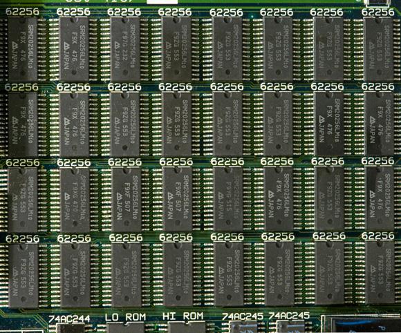 Apple Macintosh Portable: static RAM