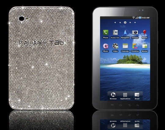 Samsung Galaxy Tab bling