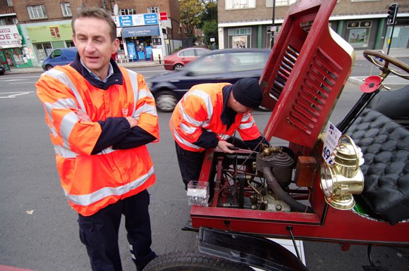 The RAC chaps tackle the problem