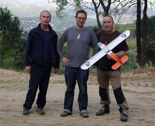 Steve Daniels, John Oates and Lester Haines. Pic: Federico Buenadicha