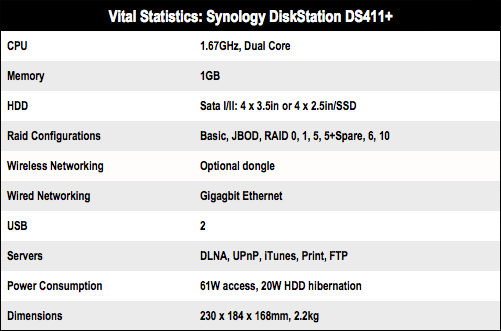 Synology DiskStation DS411+ Nas box • The Register
