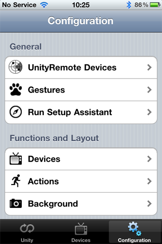 Gear4 UnityRemote