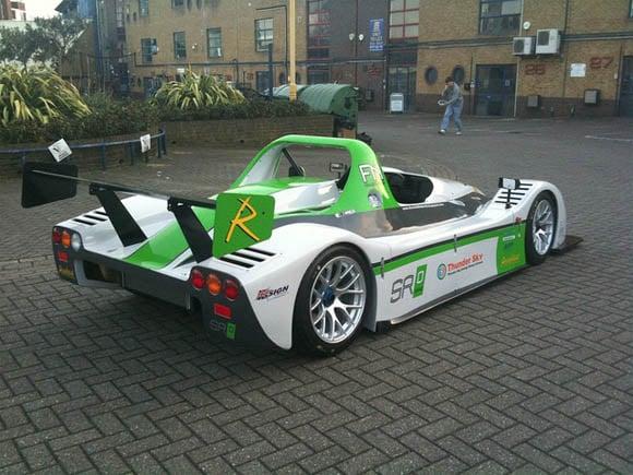 Racing Green Endurance team's SRZero electric car