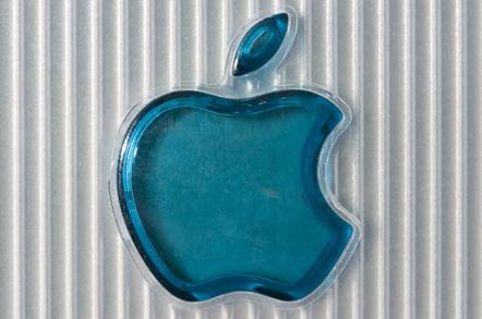 Bondi Blue Rev. A iMac - logo