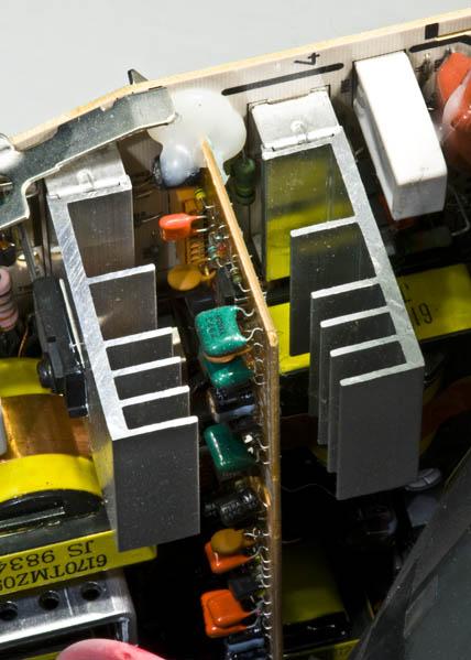 Bondi Blue Rev. B iMac - CRT heat sink