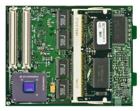 Bondi Blue Rev. B iMac - CPU daughtercard, bottom