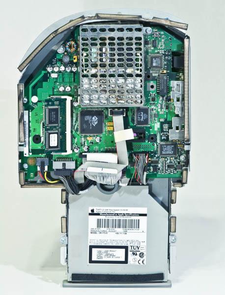 Bondi Blue Rev. B iMac - removable frame
