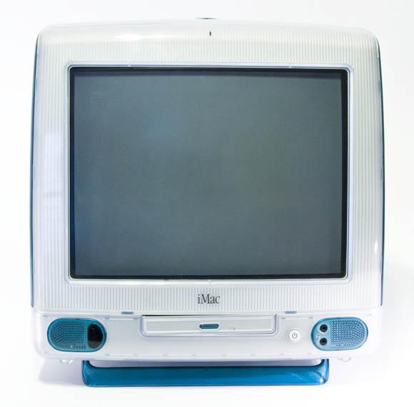 Bondi Blue Rev. B iMac - front